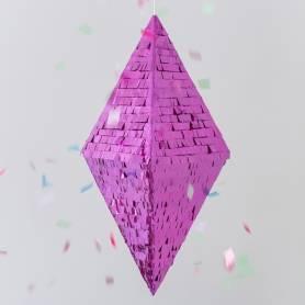 Pignatta geometrica rombo 3 D