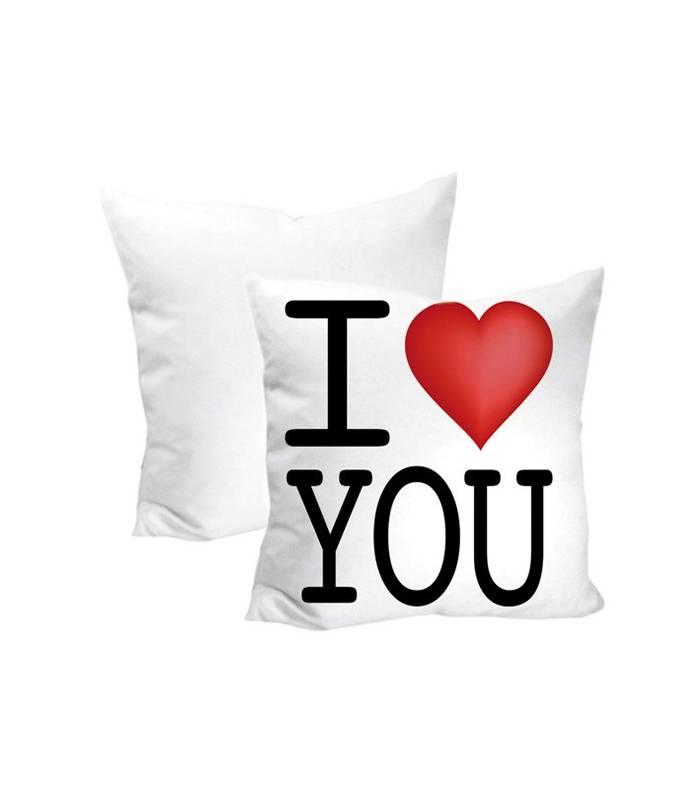 Cuscino quadrato I LOVE YOU