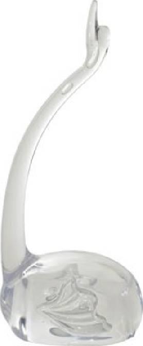 Porta Anelli swan Clear