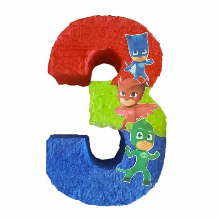 Pignatta numero Super Pigiamini personaggi