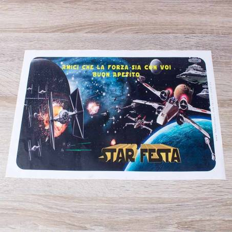 Tovaglietta di carta star wars 8pz