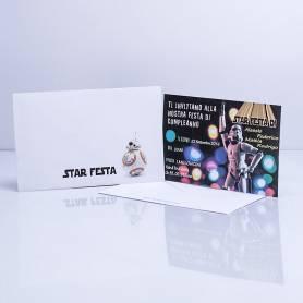 Invito Star wars 8pz