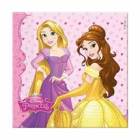 Tovagliolo carta princess 33x33