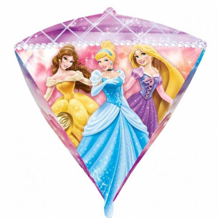 Palloncino diamante principesse