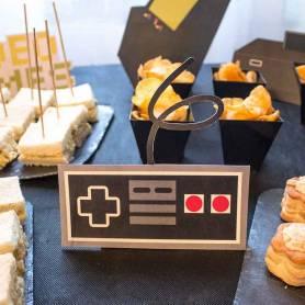 Kit decorazioni a tema video giochi joystick