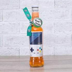 Kit bottiglie personalizzate geek