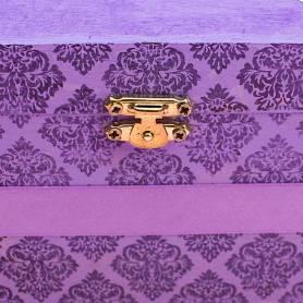 Bauletto personalizzato motivo vintage