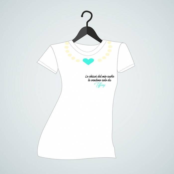 maglietta chiavi del mio cuore