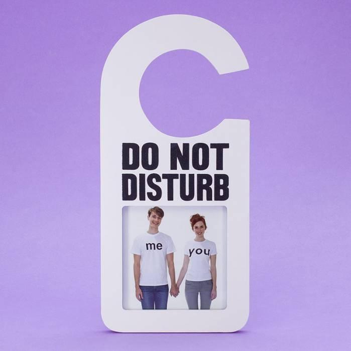 Quadro per porta Do not disturb