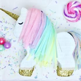 Pignatta compleanno unicorno grande colorato