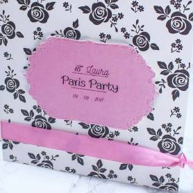 Invito Paris black roses