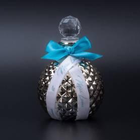 Bottiglietta vetro con nastro personalizzato