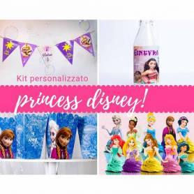 Kit Personalizzato tavola basic princess