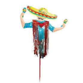 Palloncino messicano fiesta sombrero