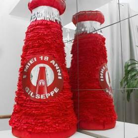 pignatta bottiglia Campari personalizzata