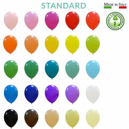 "palloncini lattice biodegradabili standard 10"""