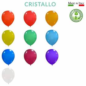 Palloncini lattice biodegradabili Cristallo 10""