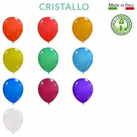 """Palloncini lattice biodegradabili Cristallo 10"""""""