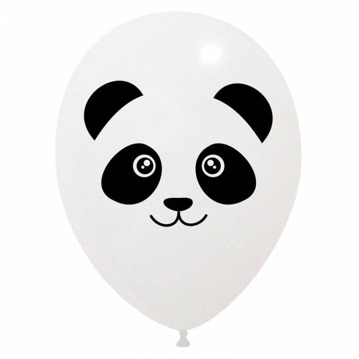 Palloncino lattice stampa panda