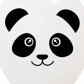 Palloncino faccia panda