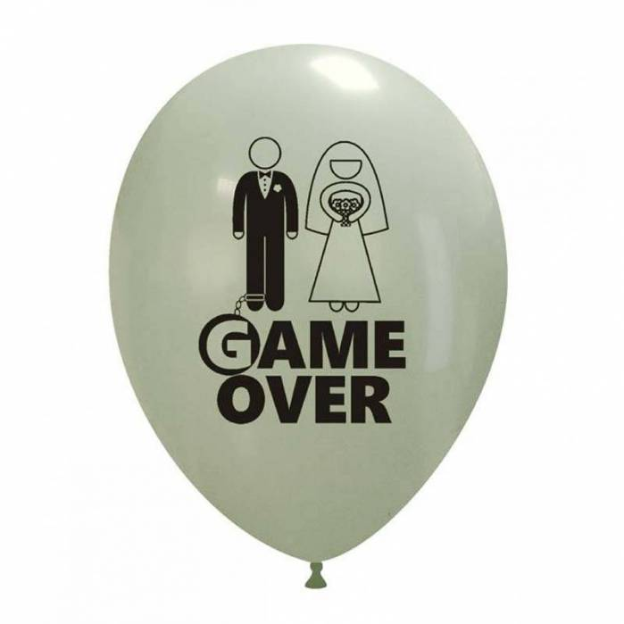 Palloncino stampa Game Over