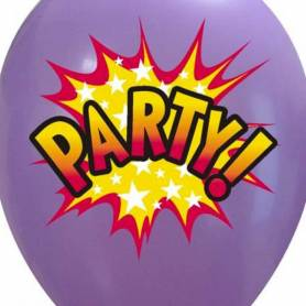 Palloncino stampa Party Pow