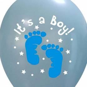 Palloncino nascita stampa It's a Boy piedini