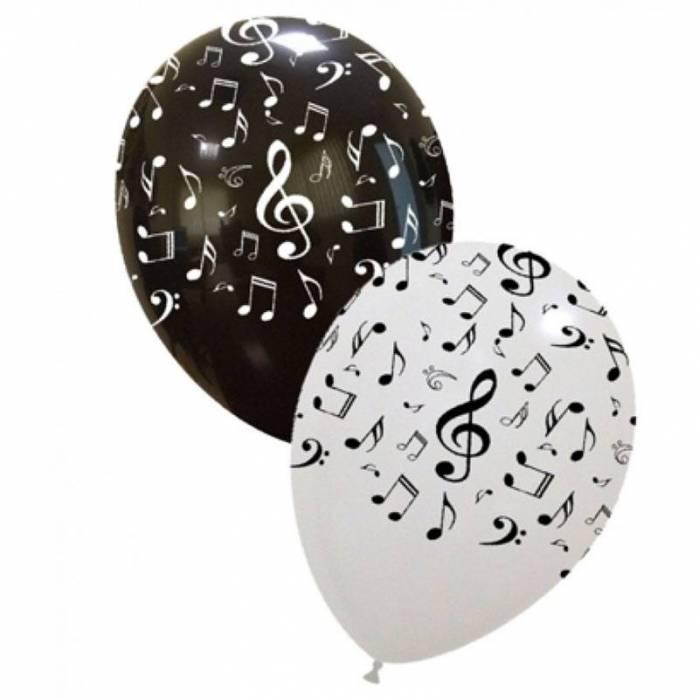 Palloncini note musicali assortiti