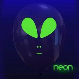 Palloncino Trasparente Alieno