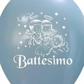 Palloncino Battesimo stampa Angeli Bimbo
