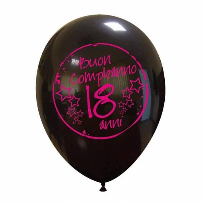 Palloncino 18 anni Buon Compleanno Fucsia