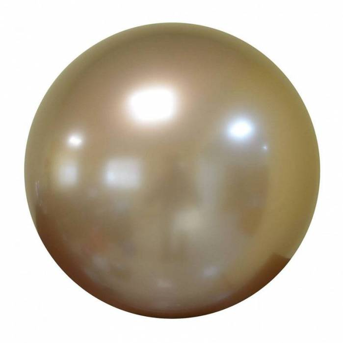 Palloncino Bubble Chrome Oro