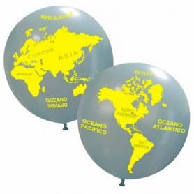 Pallone Gigante Mappamondo
