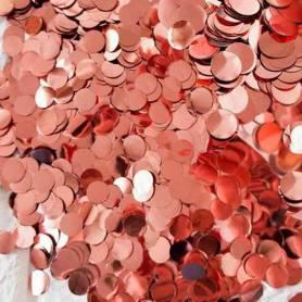 Coriandoli Oro Rosa Metallizzati  confezione