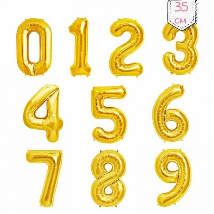 Palloncini Numeri Oro 35