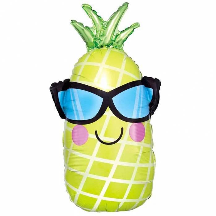Palloncino Ananas con occhiali
