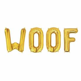 Palloncini Woof lettere