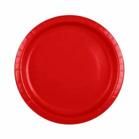 Piatti 18cm rosso