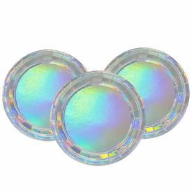 Piatti iridescenti