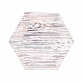 Piatti 18 cm Legno Oro Rosa