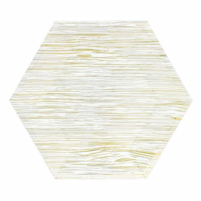 Piatti 23 cm Legno Oro