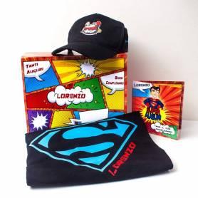 Box Super Cappellino e Maglietta Personalizzata