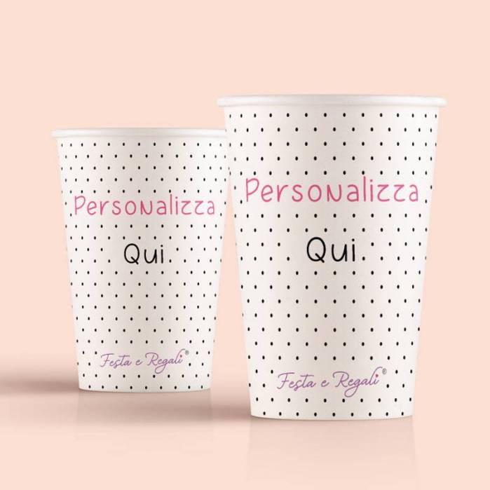 Bicchiere di carta personalizzati