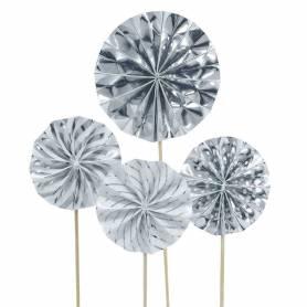 Picks ventagli argento