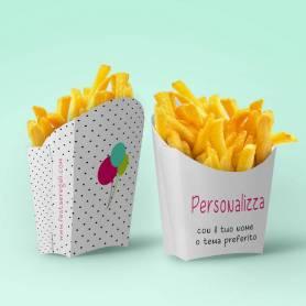 Scatoline porta patatine personalizzate