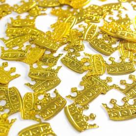 Coriandoli Corona Oro in PVC