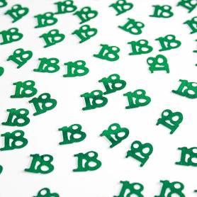 Coriandoli numero 18 verde