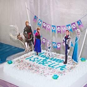 Bandierini torta Frozen