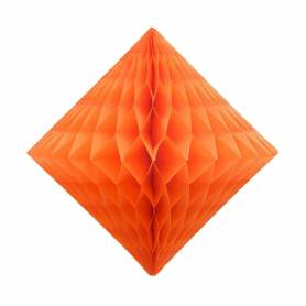 Diamante nido d'ape arancione