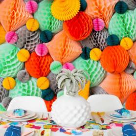 backdrop sfere nido d'ape